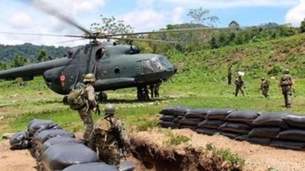 Un narcoterrorista muerto y dos heridos dejó enfrentamiento en el Vraem