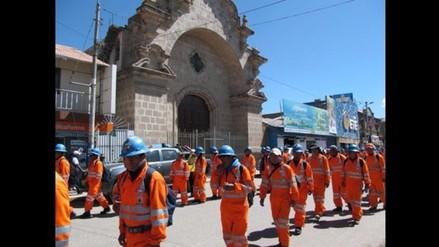 Miembros de cooperativas mineras ratifican paro para el 09 de mayo