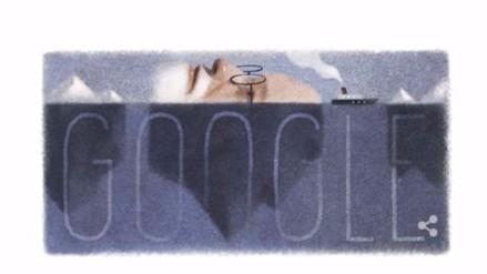 Doodle por el 160 aniversario del nacimiento de Sigmund Freud