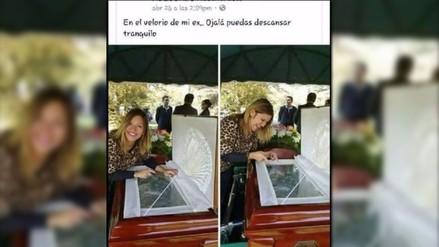 Facebook: se burla de su ex el día de su funeral