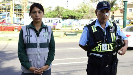 San Isidro: ambulantes agreden a sereno y a fiscalizadora edil