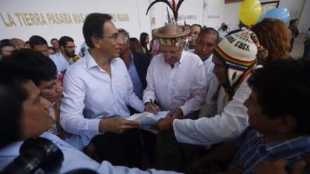 PPK le firmó documento a líder cocalero Nelson Palomino