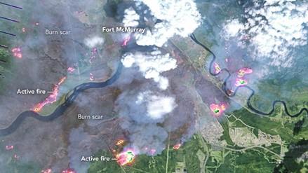 Incendio en Canadá es 10 veces más grande que Manhattan