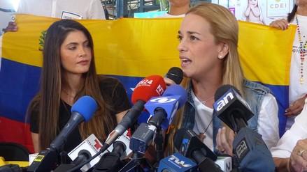 Lilian Tintori recolecta en EEUU medicamentos para Venezuela