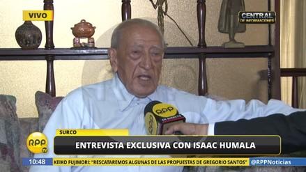 """Isaac Humala: """"Keiko y PPK son candidatos extranjeros, votaré en blanco"""""""