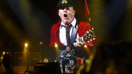 YouTube: Así fue el debut de Axl Rose con AC/DC [FOTOS Y VIDEO]