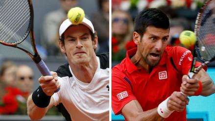 Andy Murray y Novak Djokovic a la final del Masters 1000 de Madrid