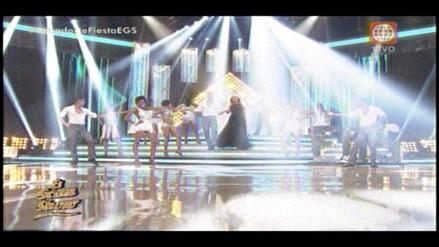 El Gran Show: Gisela es recibida con coreografía y luces