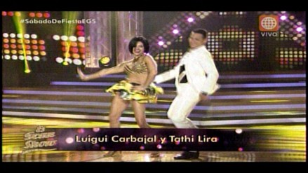 El Gran Show: Luigi Carbajal y Dorita Orbegoso inician la gala