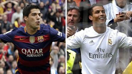 Liga BBVA: Luis Suárez sigue superando a Cristiano en tabla de goleadores
