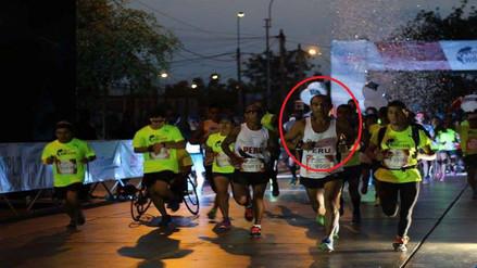 Atleta lambayecano ganó maratón Wings For Life Perú 2016