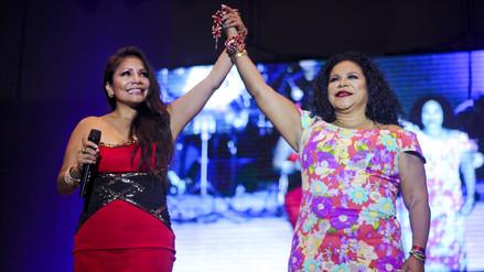 Eva Ayllón y Marisol unieron sus voces en homenaje a mamá