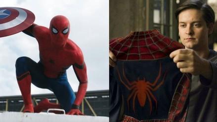 Instagram: Tobey Maguire felicita Spiderman de Tom Holland