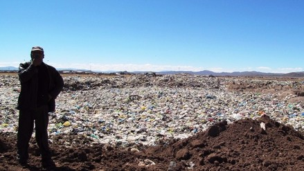 Juliaca: municipio cumple a medias proyectos en botadero de basura de Chilla