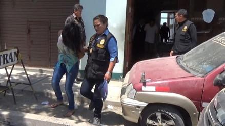 Detienen a pareja de delincuentes que robaba pertenencias de inquilinos
