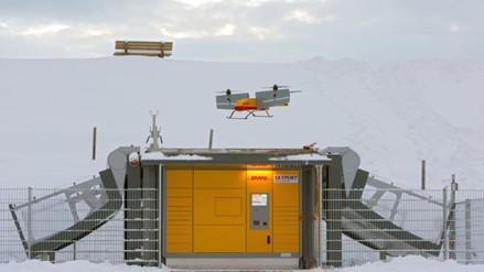 Prueban con éxito envío de paquetes con drones