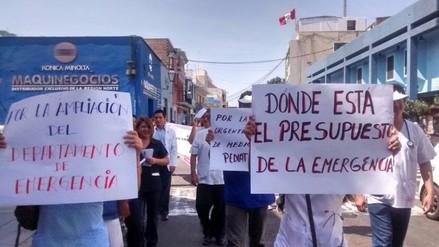 Trujillo: médicos de hospital Belén protestan por anulación de proyecto