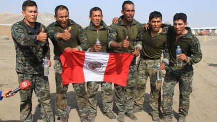Equipo peruano de FF.AA. sigue arriba de EE.UU., México, Chile y Argentina
