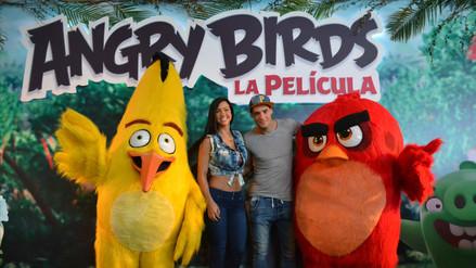 Angry Birds: farándula nacional asistó al avant premiere