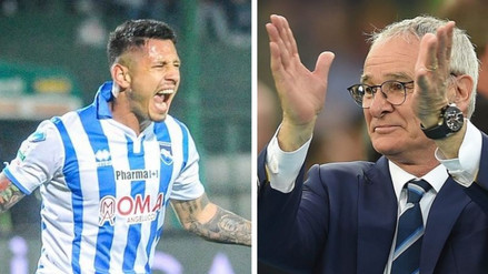 Leicester City: Claudio Ranieri confirmó interés por Gianluca Lapadula