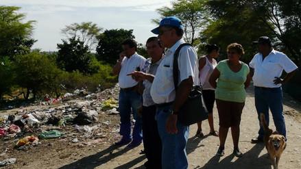 Vecinos de Castilla exigen limpieza de las riberas del río Piura