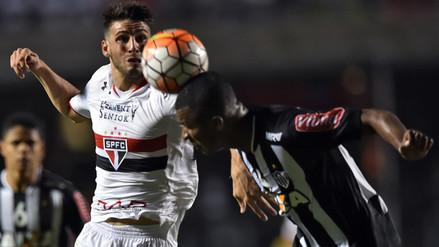 Sao Paulo ganó 1-0 a Atlético Mineiro por cuartos de la Libertadores