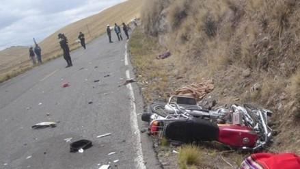 Regidor de Azángaro pierde la vida en accidente de tránsito