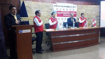 Jurado Electoral Especial proclama oficialmente a los nuevos congresistas de Junín