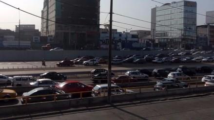 Twitter: Policía realizó operativo en la vía Expresa Paseo de la República