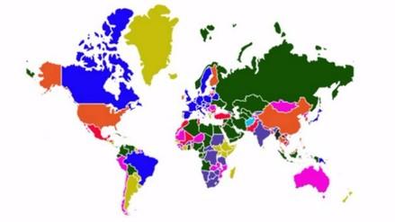 Este mapa interactivo te muestra lo que exporta cada país del mundo