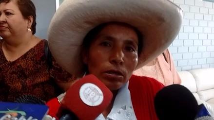 Máxima Acuña se muestra reacia con candidatos presidenciales