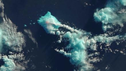 Volcán despierta tras 60 años de inactividad