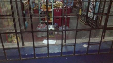 Huanchaco: extorsionadores dejan explosivo en bodega bar