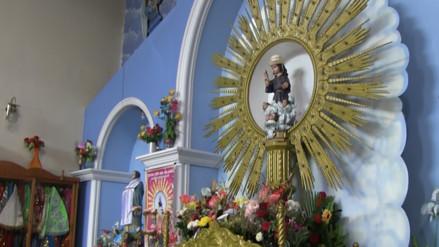 Trasladan imagen del Divino Niño a la Parroquia de Ciudad Eten luego de robo sacrílego
