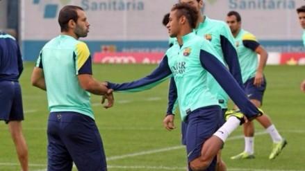 Barcelona: Javier Mascherano le exigió a Neymar que no sea tan egoísta