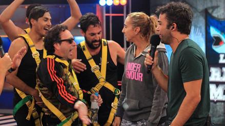 Carlos Galdós le bailó 'El Totó' a Natalia Málaga