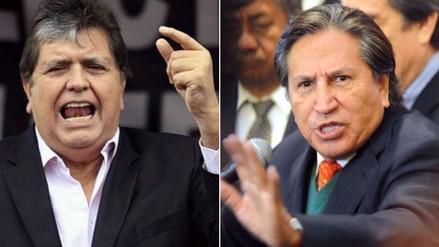 Lava Jato: citan a expresidentes Alan García y Alejandro Toledo para el miércoles