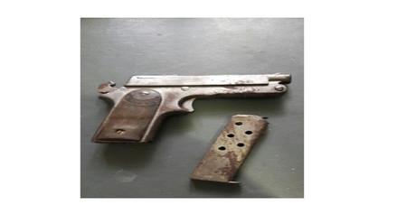 Intervienen a dos menores portando un arma de fuego en Chulucanas