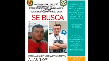 Buscan a ciudadano brasileño que realizó pintas en muros incas