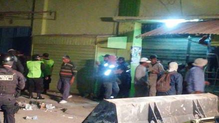 Desalojan a 50 ambulantes del mercado central de La Unión