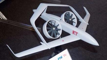 Rusia pone a prueba su modelo a escala, el dron 'Frigate'