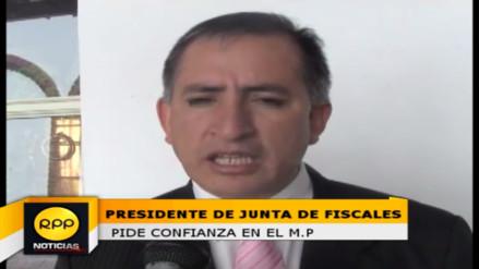 Presidente de la Junta de Fiscales pide confianza en el Ministerio Público