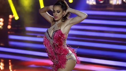El Gran Show: Milett Figueroa se robó el show al ritmo de salsa