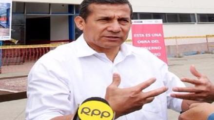 Confirman llegada de Humala para inauguran colegios en Lambayeque