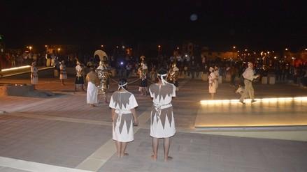 Museo Tumbas Reales de Sipán recibió a más de 3500 visitantes en su primera noche