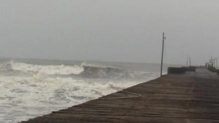 Pisco: disponen el cierre de puertos y caletas por fuertes vientos