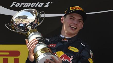 Max Verstappen, de 18 años, ganó el GP de España de Fórmula Uno