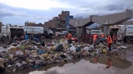 Juliaca: alcalde sin alternaticas para problema de la basura