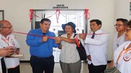 Inauguran unidad de oncología en hospital regional