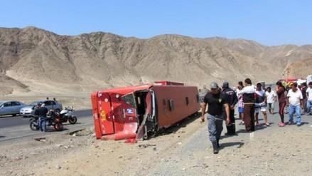 Trujillo: Línea culpa de accidente a camión que intentó pasar a bus